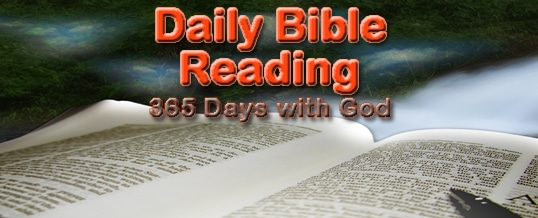 Daily Scripture Reading 1-4