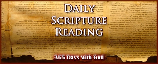Daily Bible Reading August 2019