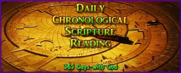 Daily Chronological Scripture Reading