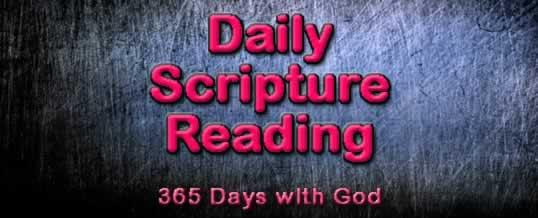 Daily Scripture Reading 3-7
