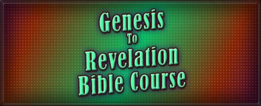 GRBC Bible Course Lesson 1