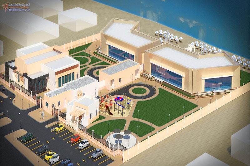 Abdullah Al'Mishal 4 – Star Hotel (Jubail) – Tanaghom Consulting Office