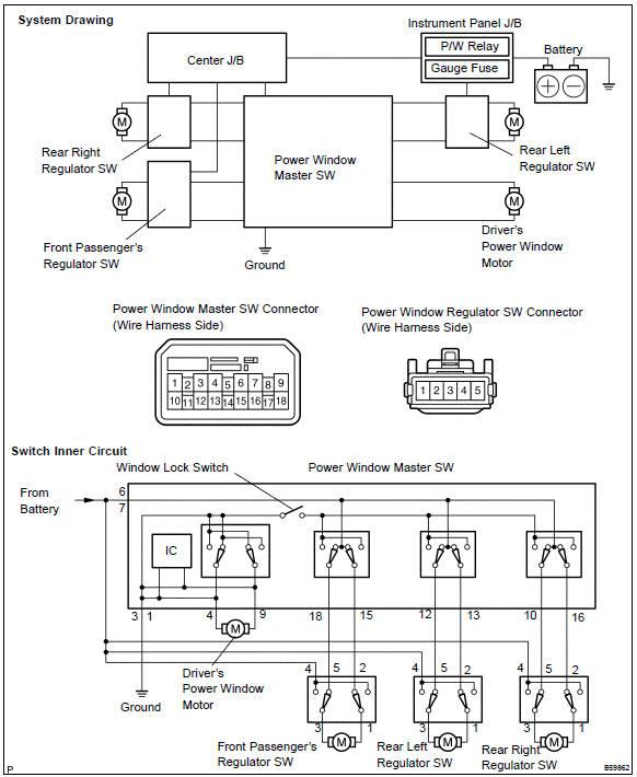 toyota camry power window wiring diagram  pietrodavicoit