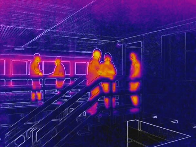 Drohneneinsatz mit Wärmebildkamera in Gebäuden
