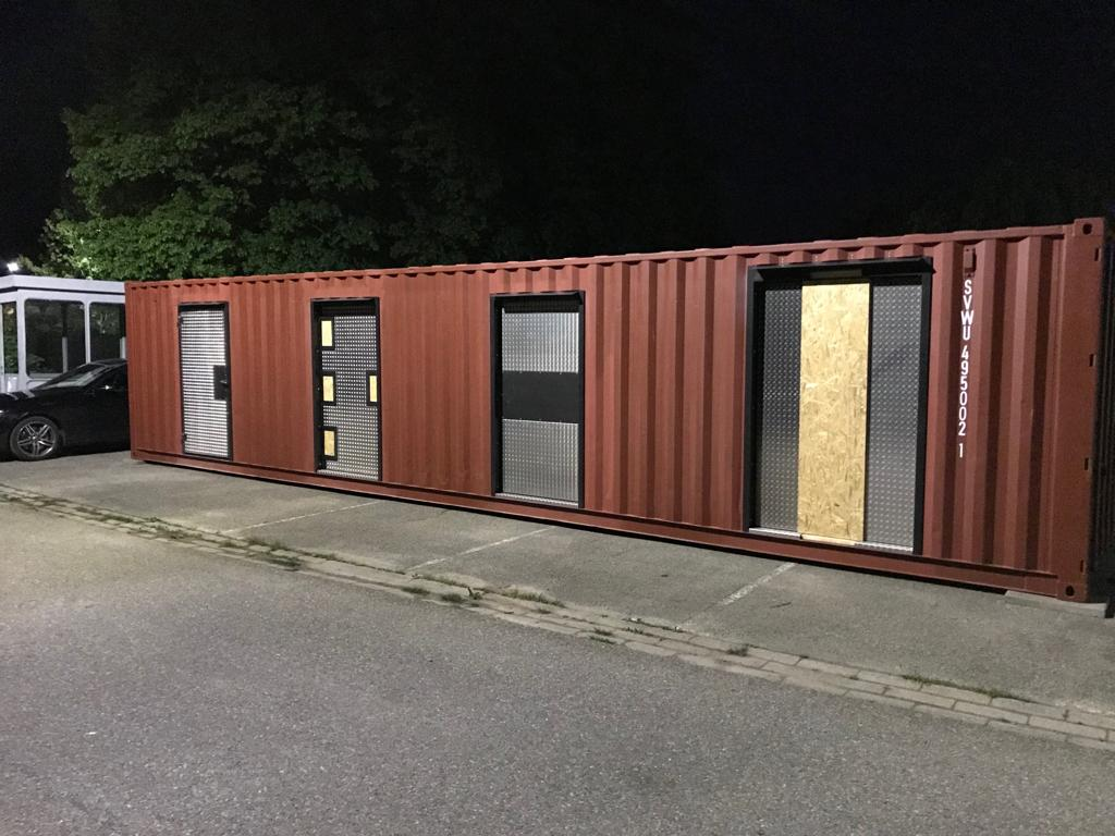 Breaching - Container im TCRH Mosbach