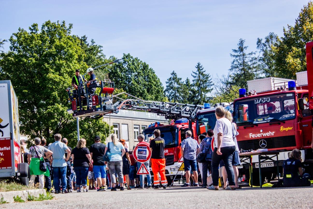 TCRH Mosbach: Leistungsschau und Fahrzeugdemonstration der Feuerwehr