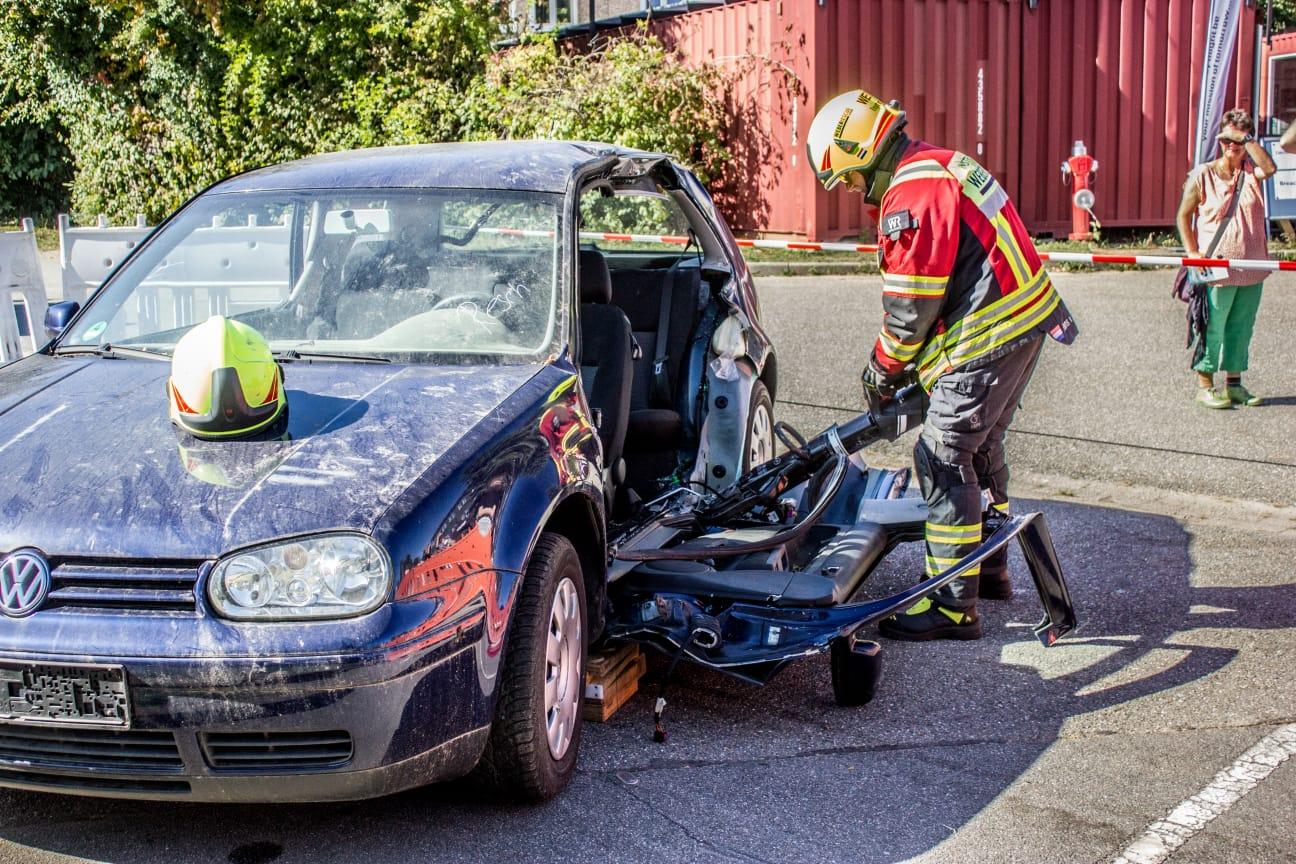Technische Rettung mit hydraulischen Geräten
