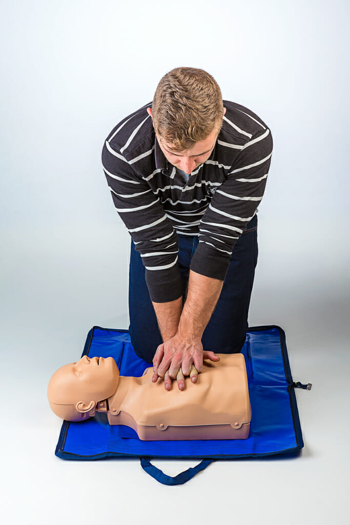 Training Herz-Lungen-Wiederbelebung