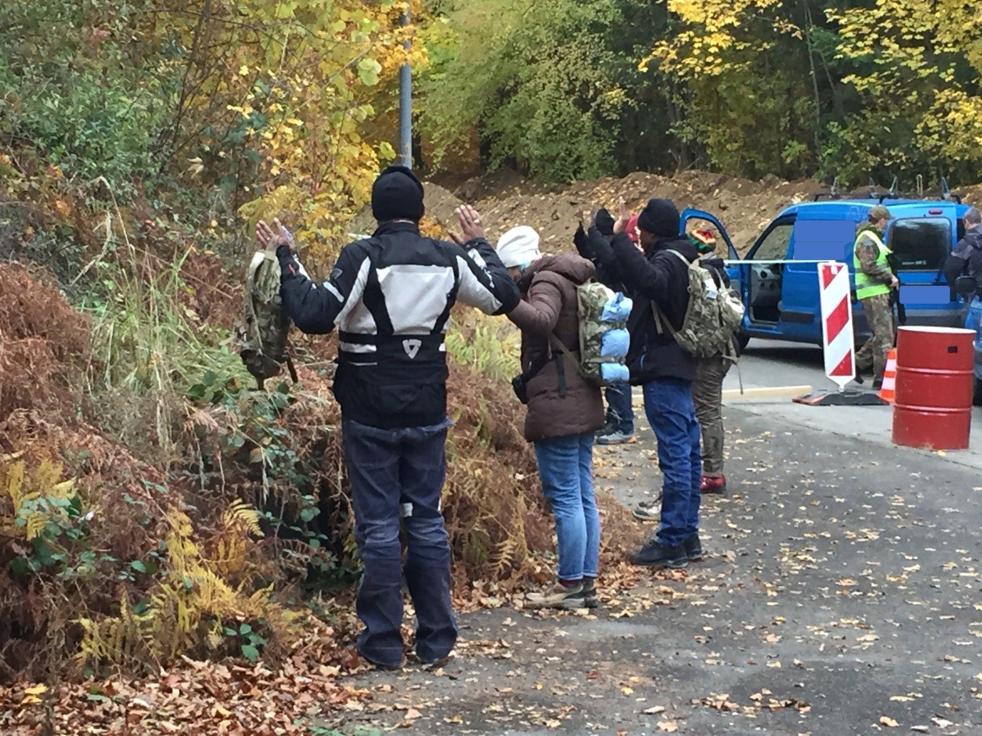 HEAT AKADEMIE TCRH MOSBACH Verhalten am Checkpoint