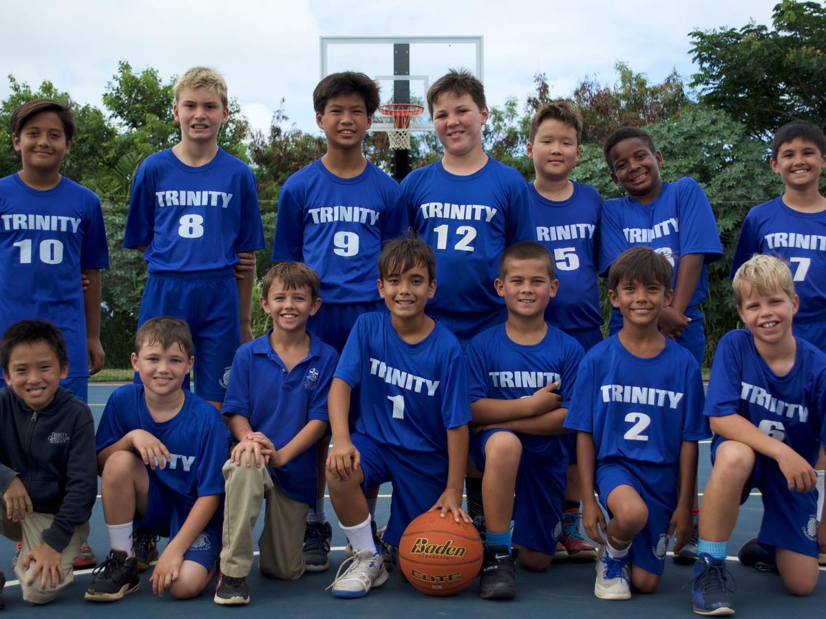 4th 6th Grade Boys Basketball Team Undefeated