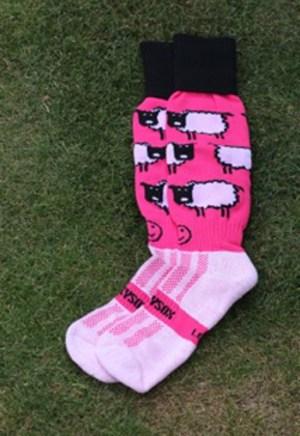 Hockey Kleding Kousen Sheep Pink