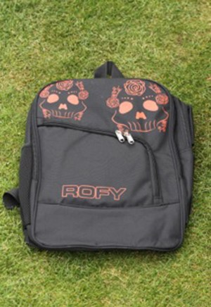 Rofy Hockey Backpack Skull