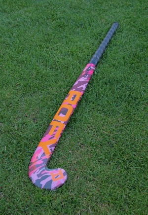 Rofy Hockey Stick Junior Ind Camo Pink