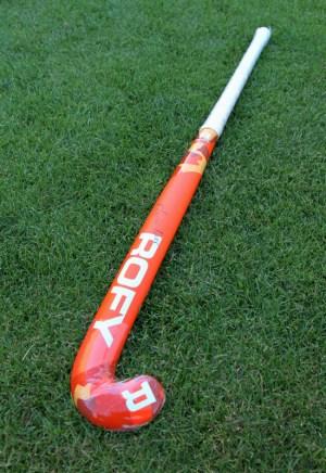 Rofy Hockey Stick Senior Camo Orange
