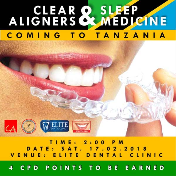 CPD on Clear Aligners in Tanzania