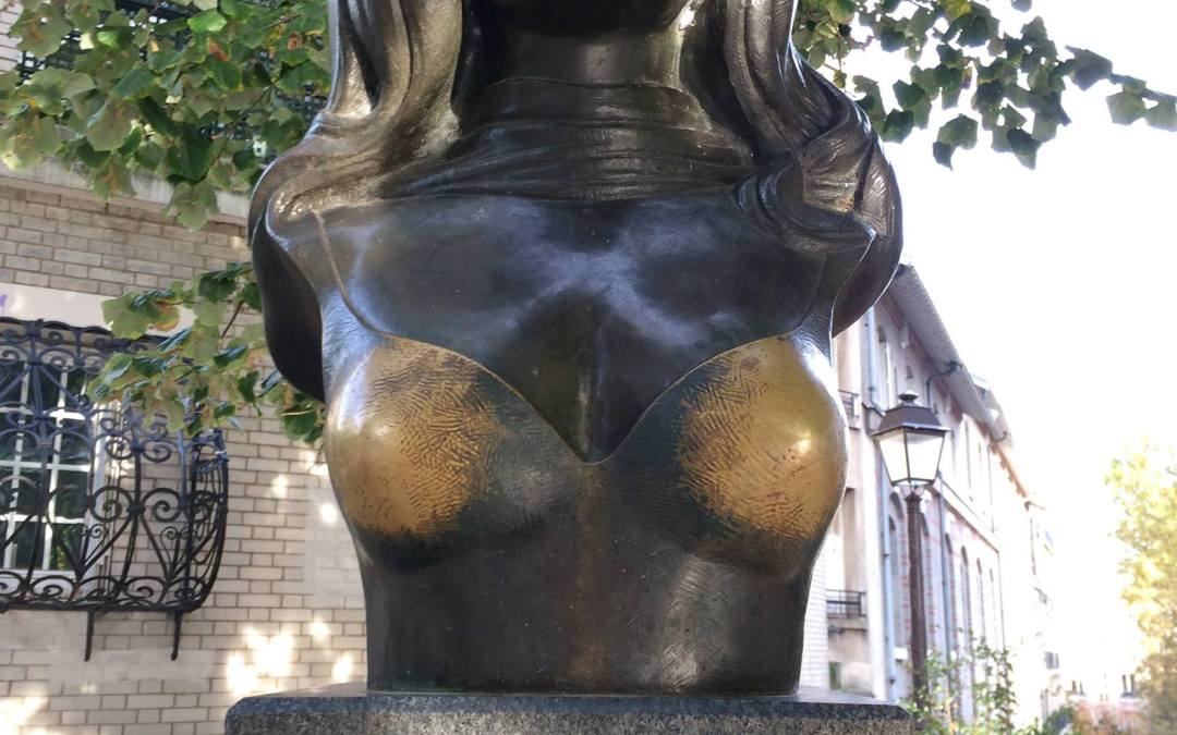 Dalida statue montmartre