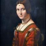 La belle Ferronnière - Léonard de Vinci