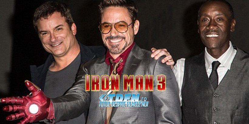 Shane Black Este Regizorul Filmului IRON MAN 3