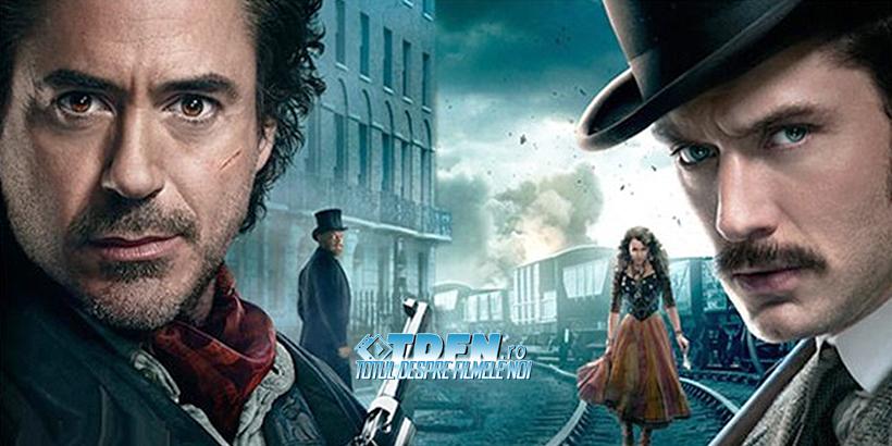 Doua Postere Si Imagini Noi Din Sherlock Holmes 2 : A Game of Shadows