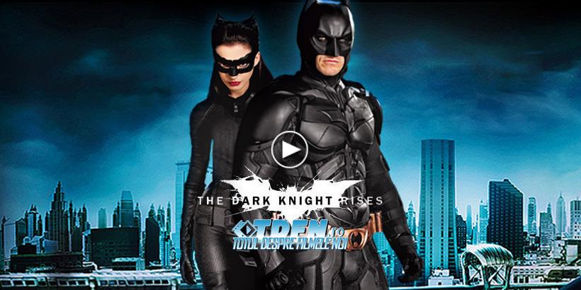 THE DARK KNIGHT RISES Are Un Trailer Nou Epic Şi Extins Ce O Introduce Pe Catwoman