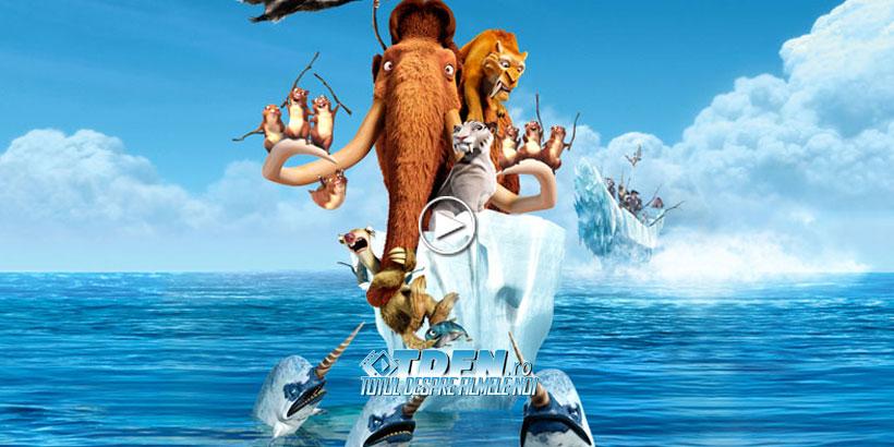 Ice Age 4 Continental Drift Vine Cu Un Trailer Nou Complet