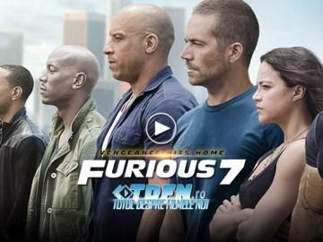 FURIOUS 7: Primul Trailer Exploziv Are Acţiune Fantastică În Viteză Cu VIN DIESEL Şi Familia Sa