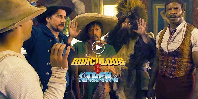 THE RIDICULOUS 6: Primul Trailer Amuzant Pentru Noua Comedie Cu ADAM SANDLER