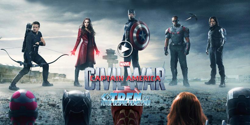 Primul Trailer CAPTAIN AMERICA CIVIL WAR: Un Conflict Exploziv În Lumea Super-Eroilor
