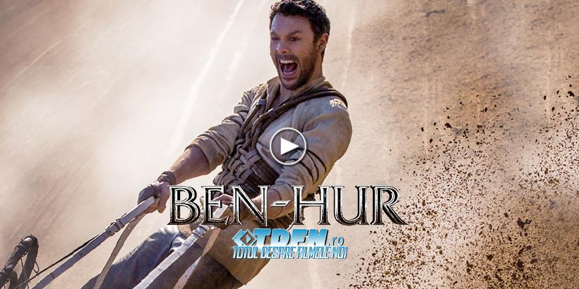 Primul Trailer Epic BEN-HUR: Răzbunare Şi Acţiune Antică