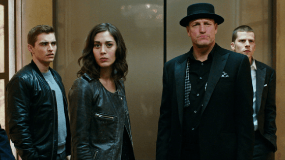 Jesse Eisenberg, Woody Harrelson, Dave Franco, Lizzy Caplan în Now You See Me 2