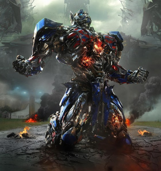Optimus Prime în Transformers: Age Of Extinction