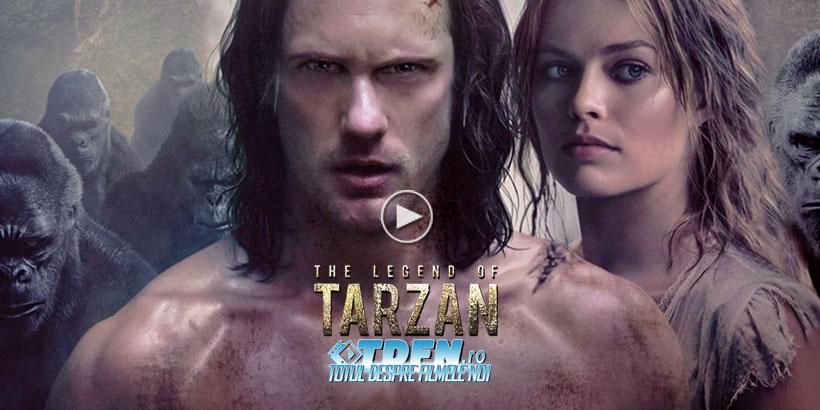 LEGENDA LUI TARZAN 2016: Noul Trailer Dezvăluie Povestea Originii Omului Din Junglă