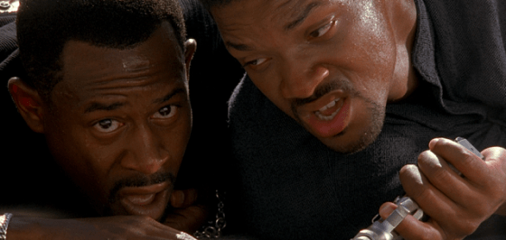 Marcus Burnett (Martin Lawrence) şi Mike Lowery (Will Smith)
