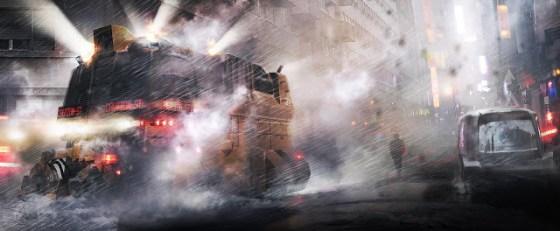 Primele imagini concept-art din Blade Runner 2