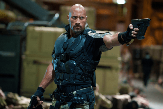 Dwayne Johnson - G.I. Joe: Retaliation - Roadblock