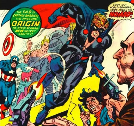 Captain America devine Nomad, super-eroul fără ţară.