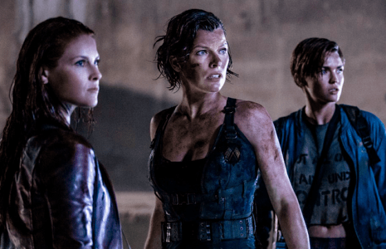 Ali Larter, Milla Jovovich şi Ruby Rose în Resident Evil: The Final Chapter