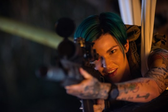 Ruby Rose in xXx: RETURN OF XANDER CAGE