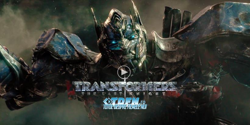 Primul Trailer TRANSFORMERS 5 THE LAST KNIGHT: Două Specii Într-un Război Interminabil