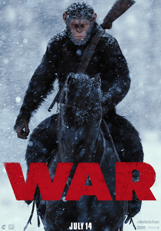 Poster Războiul Pentru Planeta Maimuțelor