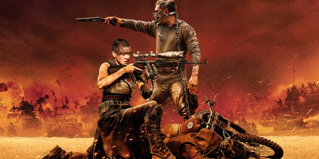 Mad Max: Fury Road - Tom Hardy si Charlize Theron