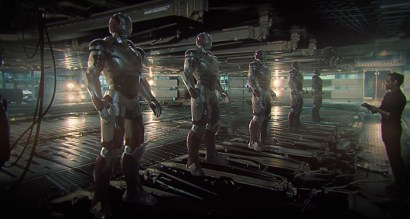 Avengers Infinity War: Tony Stark concept art