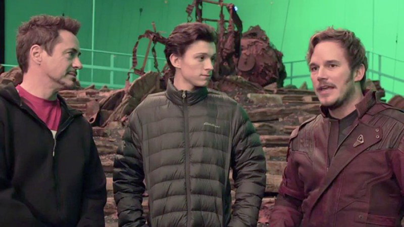 Avengers: Infinity War - Robert Downey Jr, Chris Pratt si Tom Holland