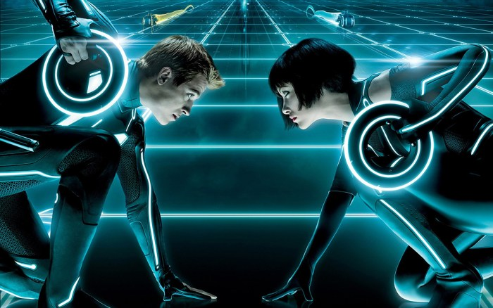 Olivia Wilde şi Garrett Hedlund: Tron Legacy