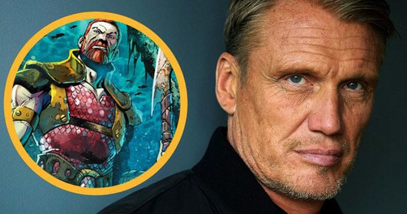 DOLPH LUNDGREN Va Juca Rolul Unui Personaj Negativ În Filmul AQUAMAN un rival ce îl vrea mort pe super eroul Atlantian.