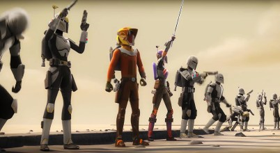 Star Wars Rebels: Ezra si Sabine