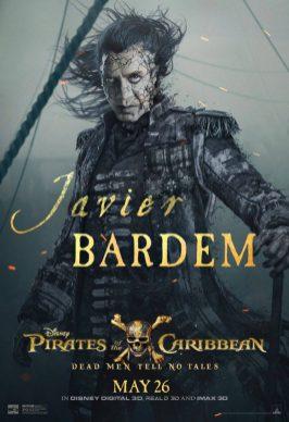 Pirații din Caraibe: Răzbunarea Lui Salazar Poster (Javier Bardem)