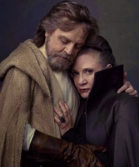 Carrie Fisher alături de Mark Hammil