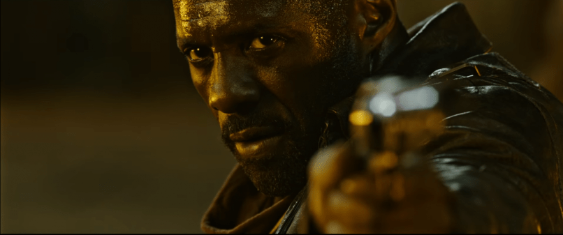Roland (Idris Elba) in THE DARK TOWER.