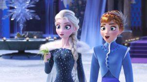 Olaf's Frozen Adventure (2017) Anna şi Elsa